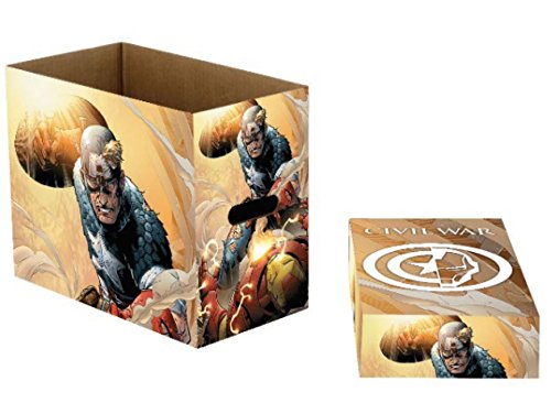 NECA Marvel Comics Storage Boxes Captain America Battle 23 x 29 x 39 cm Case (5)