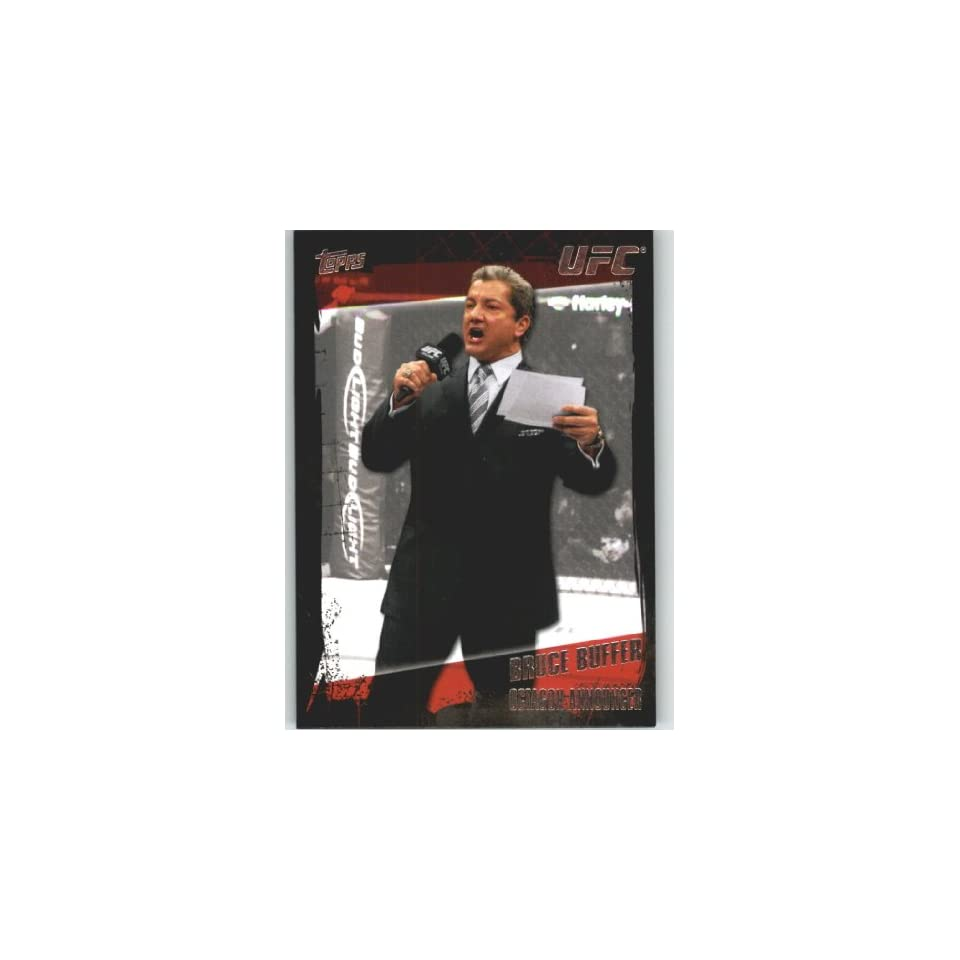 2010 Topps UFC Trading Card # 170 Bruce Buffer (Ultimate Fighting