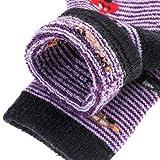 NOVCO Kids Toddler Boys Girls Winter Warm Wool Soft