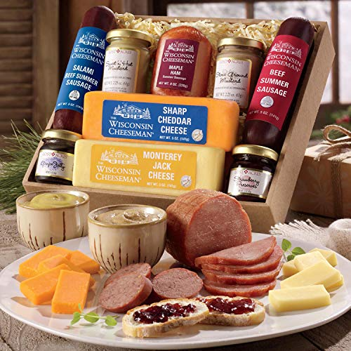 (Hostess Delight Food Gift Box from Wisconsin)