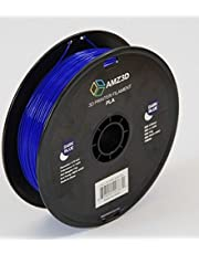1.75mm Dark Blue PLA 3D Printer Filament - 1kg Spool (2.2 lbs) - Dimensional Accuracy +/- 0.03mm