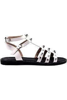 3bdc45395fe63 Fashion Thirsty Sandales Spartiates Plates - Brides - Gothique Punk ...