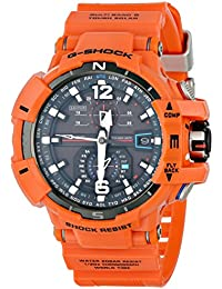 G-Shock Unisex Atomic Solar GWA1100 Orange Watch