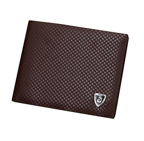 Geldbörsen, Rcool Mini-Brieftasche Geldbörse Bifold Geldbörse Männer Leder Kredit-/ID Card Tasche