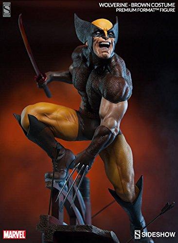 Sideshow Marvel Wolverine – Brown Costume Premium Format Figure Statue