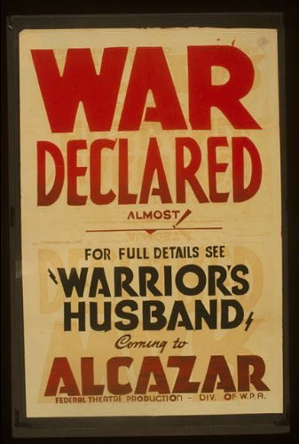 Photo: War Declared, Warrior's Husband, Alcazar, 260 O'Farrell Street, San Francisco, CA . Size: - O Francisco Farrell San