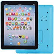 Vividy 7.3x5.5x0.8inch Kids Pad Toy Pad Computer Tablet Education Learning Education Machine Touch Screen Tab
