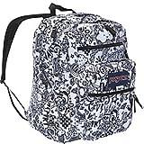 JanSport Big Student Classics Series Backpack - Black/White Doodle