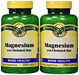 Spring Valley - Magnesium with Chelated Zinc, 500