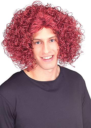 Rubie's Loud Mouth Top Wig, Red, One -