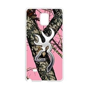 Custom Unique Design Pink Camo Samsung Galaxy Note 4 Silicone Case