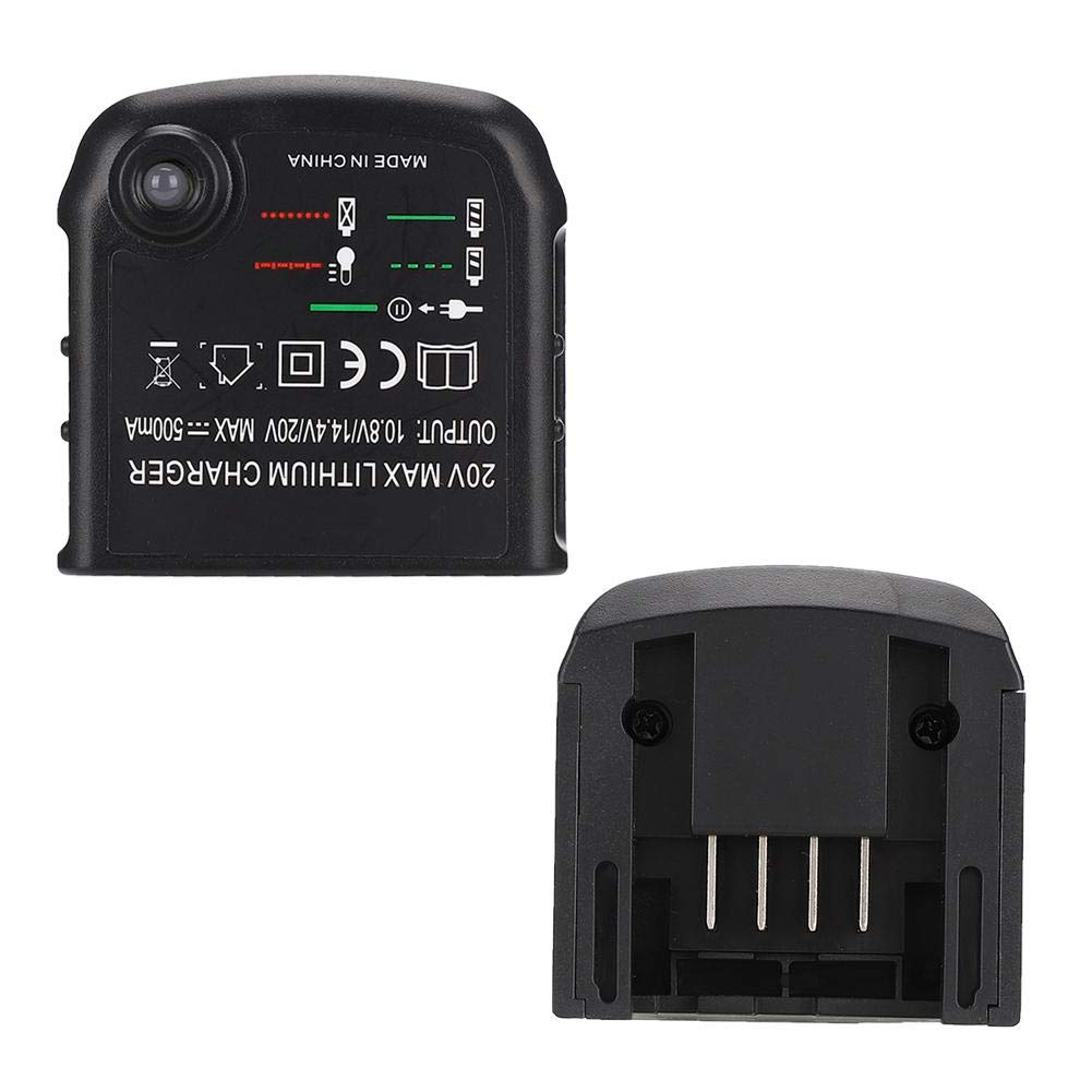 ASHATA Charger Replacement for Black/&Decker//PORTER CABLE 20V Max Lithium Battery Charger LCS 1620 100-240V UK