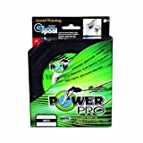 Power Pro Spectra Fiber Braided Fishing Line, Hi-Vis Yellow, 500YD/30LB