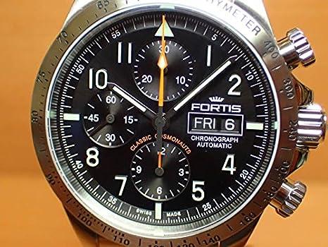 b5ff8ac506 Amazon   フォルティス 腕時計 FORTIS クラシック・コスモノート スチール p.m. 42mm Ref.401.21.11M    レディース腕時計   腕時計 通販