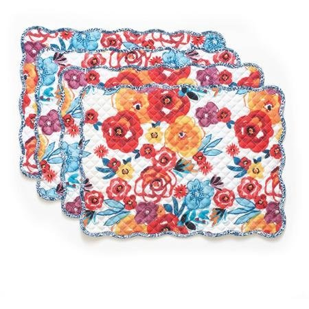 - The Pioneer Woman Flea Market Reversible Placemat, 4pk