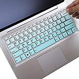 Keyboard Cover for Lenovo Yoga 720 720S 730 13.3'  Yoga 730 15.6'  Yoga C940 C930 930 920 13.9'  Yoga 720 12.5'  Yoga C740 14' Lenovo Flex 14  Lenovo Flex 15 15.6'  Ideapad 720s 13' 14'-Mint Greenr