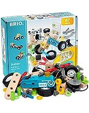 BRIO Builder 34595 Nachziehmotor-Konstruktionsset - Ergänzung für das BRIO Builder Konstruktionssystem, fördert das logische Denken - Empfohlen ab 3 Jahren