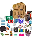 "One person 72hr Emergency "" Bug Out Bag"" Coyote"