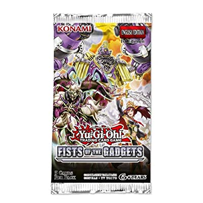 Yu-Gi-Oh KONFOTG Fist of The Gadgets Booster Packet: Toys & Games