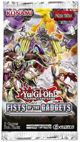 Yu-Gi-Oh KONFOTG Fist of The Gadgets Booster Packet