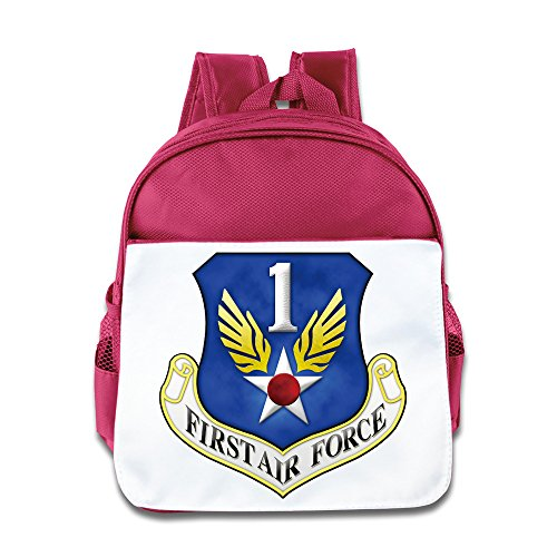 First Air Force Kids Backpack Boys Girls School Bag(two Colors:pink Blue) (Zoey Green Camo)