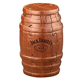 Jack Daniel's Real Wooden Barrel Puzzle 9pc ...