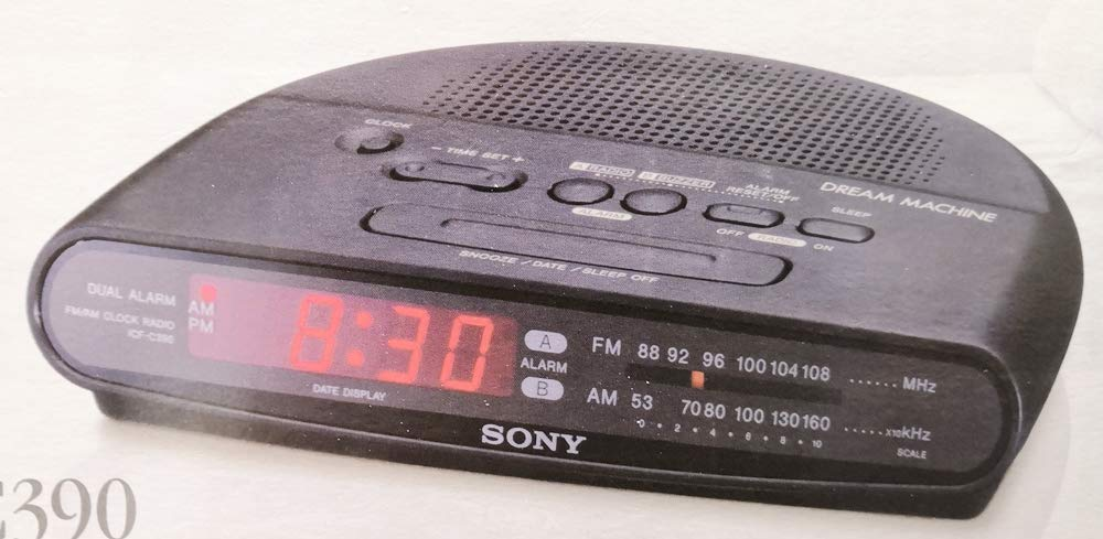 Amazon.com: Sony ICFC390 AM/FM Dual Alarm Clock Radio (Discontinued by Manufacturer): Home Audio & Theater