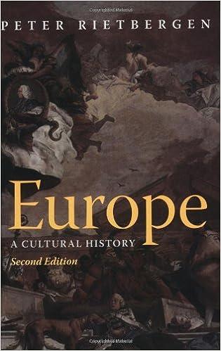 ผลการค้นหารูปภาพสำหรับ Europe : A Cultural History