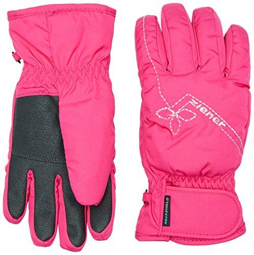 Ziener Mädchen Handschuhe Liana AS Girls Gloves Junior, Pop Pink, 6, 151932