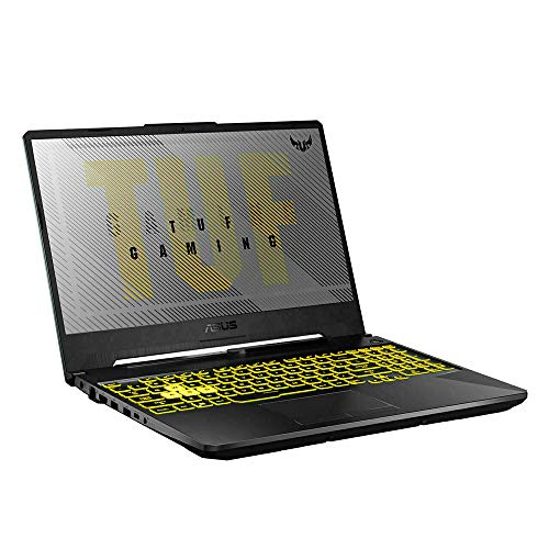 "2020 ASUS TUF Gaming A15 15.6"" FHD Gaming Laptop Computer, AMD Ryzen 7-4800H, 16GB RAM, 512GB PCIe SSD, Backlit Keyboard, NVIDIA GeForce RTX 2060, HD Webcam, Win 10, Gray, 32GB Snow Bell USB Card"