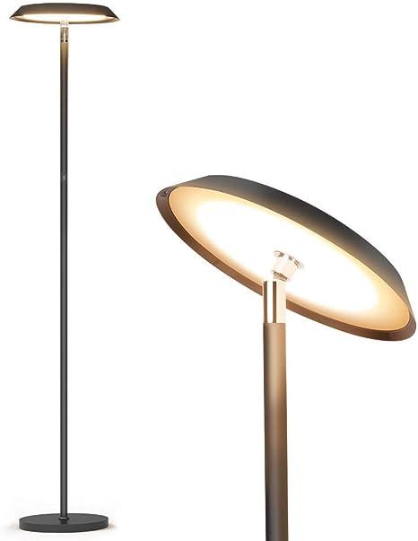 Modern LED Floor Lamp Dimmable Tall Standing Contemporary Livingroom Light NEW