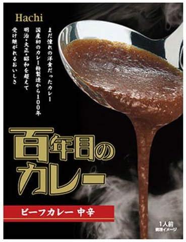 ハチ食品 百年目のカレー(中辛) 220g×3個