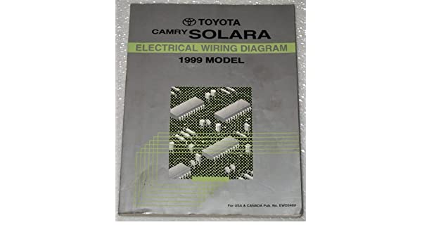 1999 toyota camry solara electrical wiring diagram (mcv20, sxv20 series):  toyota motor corporation: amazon com: books