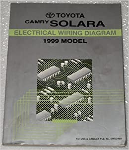 1999 Toyota Camry Solara Electrical Wiring Diagram (MCV20, SXV20 ...