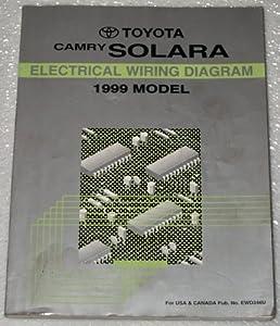 1999 toyota camry solara electrical wiring diagram mcv20 sxv20 rh amazon com Mitsubishi Starion Wiring Diagram Buick Lacrosse Wiring Diagram