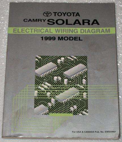 1999 Toyota Camry Solara Electrical Wiring Diagram (MCV20, SXV20 Series):  Toyota Motor Corporation: Amazon.com: Books