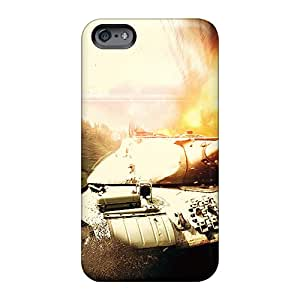 Scratch Resistant Hard Phone Case For Apple Iphone 6s With Customized Beautiful World Of Tanks Hd Series Case8888