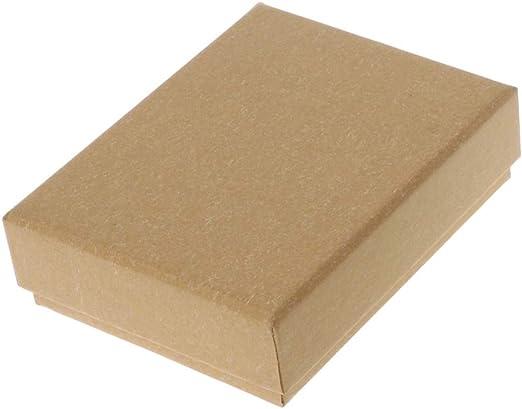 Mikiya - Caja Cuadrada para Joyas, Collares, Pendientes, Pulseras ...