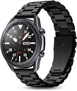 Spigen Modern Fit Designed For Samsung Galaxy Watch 3 45mm Band Strap (2020) / Galaxy Watch 46mm Band (2018) / Gear S3 Frontier Band / S3 Classic Band Strap - Black