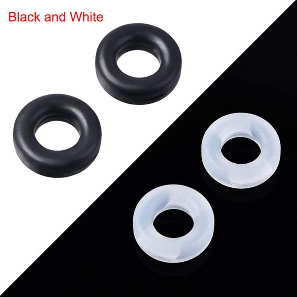 6 Pairs Round Anti-Slip Silicone Eyeglass Retainer Soft Comfortable Temple Tips Holder Ring Eyeglass Accessories Glasses Ear Hook