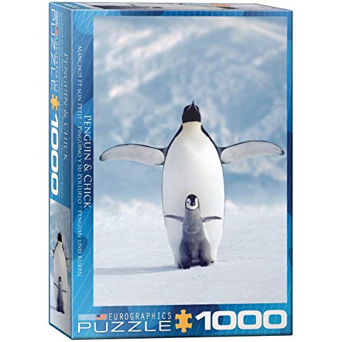 Eurographics Penguin and Chick 1000-Piece Puzzle ()