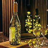 Wine Bottle Lights, Set of 3