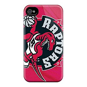 JasonPelletier Iphone 4/4s Protective Cell-phone Hard Covers Support Personal Customs High Resolution Toronto Raptors Skin [LzG16099CWiG]