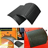 Danti Cowl Body Armor Powder Coated Finish Outer Cowling Cover for Jeep Wrangler JK Rubicon Sahara Sport X & Unlimited 2/4 door 2007-2016 (Classic version)