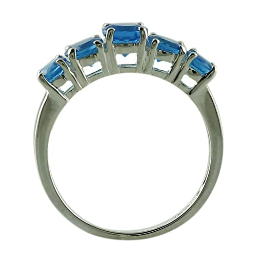 Details about  /925 Sterling Silver Natural Neon Apatite Gemstone 5 MM Round Engagement Ring