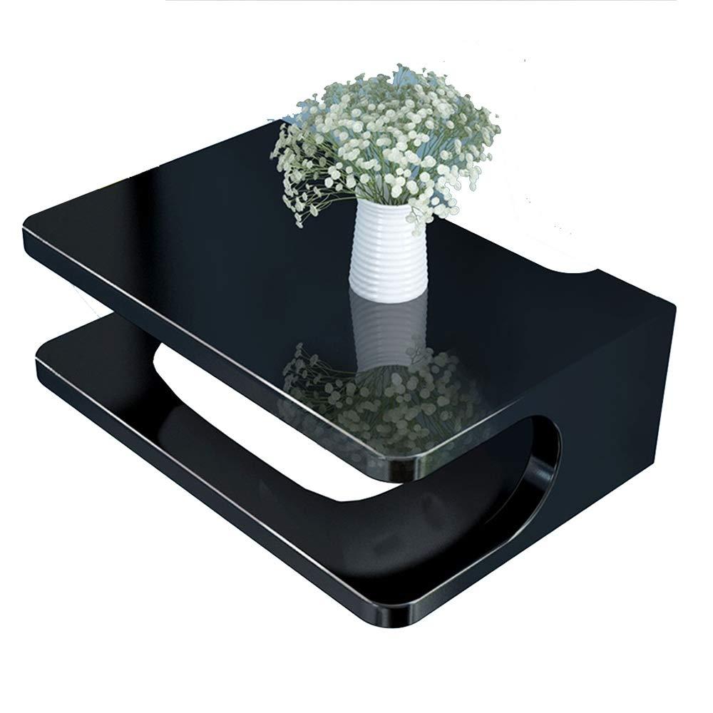 NAN Liang Router-Aufbewahrungsbox Set-Top-Box-Ablagefach Wandhalterung TV-Wandschrank Wohnzimmer-Wandregal Regale (Farbe : SCHWARZ)