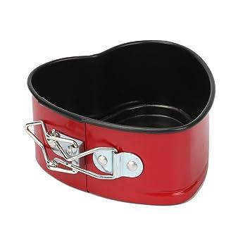 Amazon.com: Mini Cake Pan, MCIRCO 4 Inches Nonstick Springform Pan ...