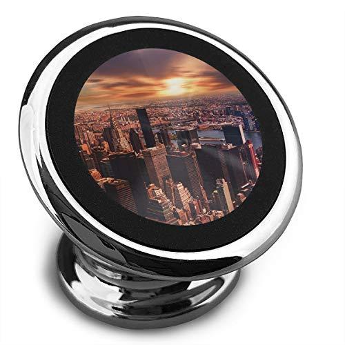 Baerg Universal Magnetic Phone Car Mounts Magnet Holder New York City Magnetic Mount for Phone 360° Rotation