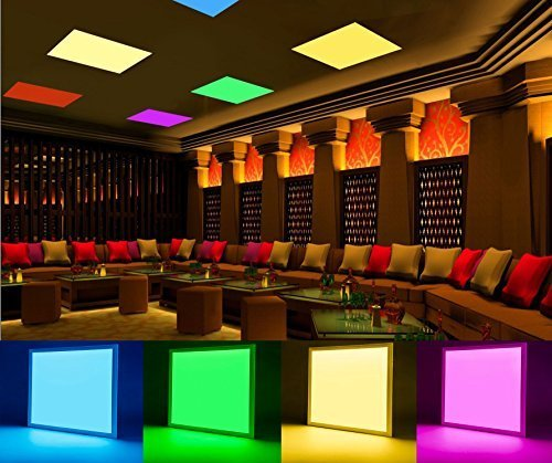 Rgb Led Panel Light Colour Changing Led Panel Light With Remote