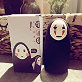 Bamboo's Grocery Studio Ghibli Spirited Away No-Face Water Vacuum Bottle Travel Sport Exercise Mug, 280ML, Black